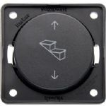 Berker Step Switch Anthracite